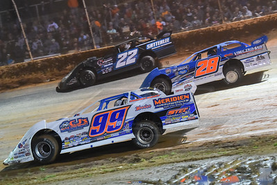 Boom Briggs (99B), Dennis Erb, Jr. (28) and Gregg Satterlee (22)