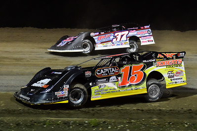 Steve Francis (15) and Scott Ward (37)