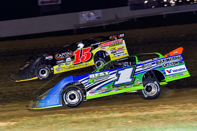 Josh Richards (1) and Steve Francis (15)