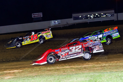Bobby Pierce (32), Josh Richards (1) and Steve Francis (15)