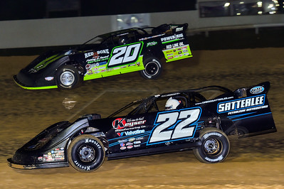 Gregg Satterlee (22) and Jimmy Owens (20)