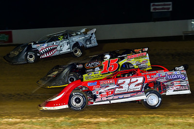 Bobby Pierce (32), Steve Francis (15) and Cody Mahoney (4)