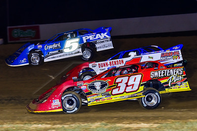 Tim McCreadie (39), Earl Pearson, Jr. (1) and Don O'Neal (5)