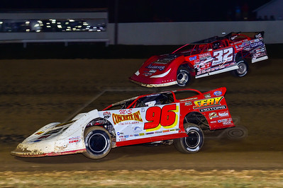 Tanner English (96) and Bobby Pierce (32)