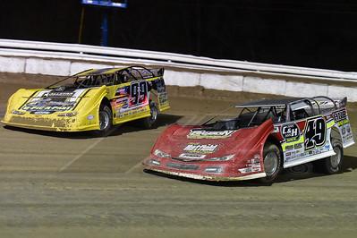 Jonathan Davenport (49) and Frank Heckenast, Jr. (99JR)