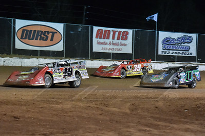 Jonathan Davenport (49), Austin Hubbard (11) and Tim McCreadie (39)