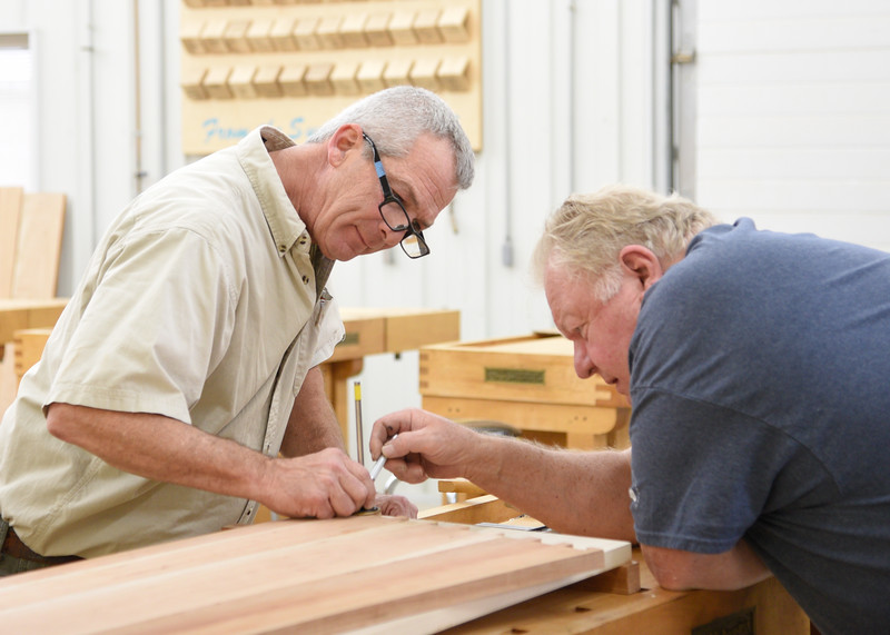 Building a Step Back Cupboard
