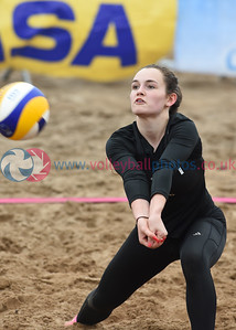 CEV SCD Beach Volleyball Zonal Event, Portobello Beach, 13 May 2017.  © Lynne Marshall  http://www.volleyballphotos.co.uk/2017/CEV-FIVB-Events/2017-05-13-CEV-SCD-Beach-Volleyball/