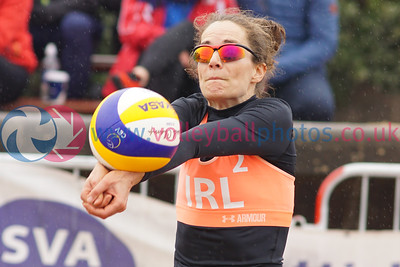 CEV SCD Beach Volleyball Zonal Event, Portobello, Edinburgh, Sat 13th May 2017.  © Michael McConville  http://www.volleyballphotos.co.uk/2017/CEV-FIVB-Events/2017-05-13-CEV-SCD-Beach-Volleyball