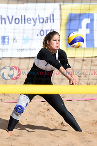 CEV SCD Beach Volleyball Zonal Event, Portobello Beach, 14 May 2017.   © Lynne Marshall   http://www.volleyballphotos.co.uk/2017/CEV-FIVB-Events/2017-05-14-CEV-SCD-Beach-Volleyball/