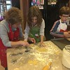 ELLIE AND ALEX MAKE THEIR ANNUAL CHRISTMAS COOKIE CUTOUTS