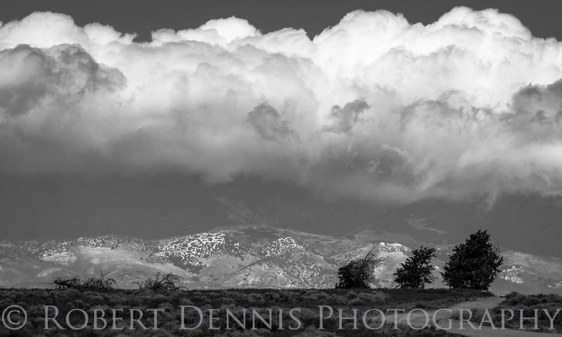 Pregnant clouds, Antelope Valley