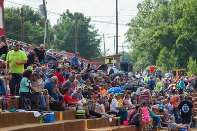 Cherokee Speedway grandstands