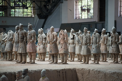 The zombie terracotta warrior army.  They get repaired here.