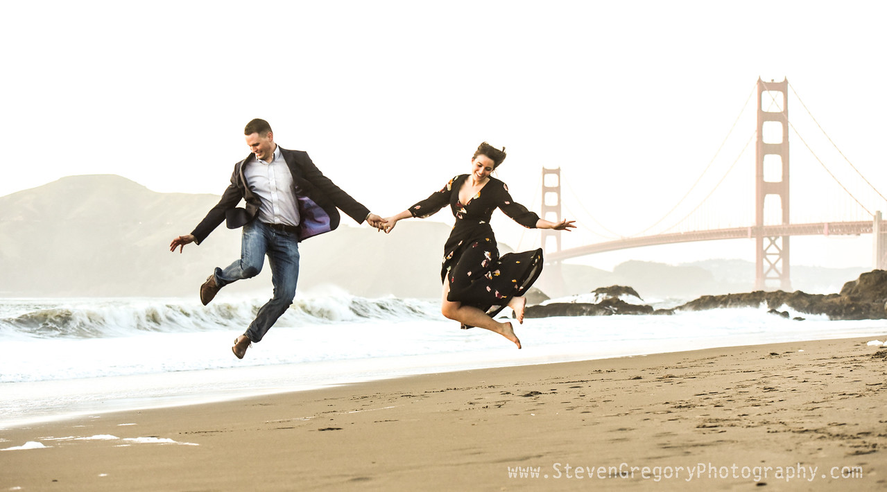 Steven Gregory Photography Proposal Photography Engagement Photography San Francisco w