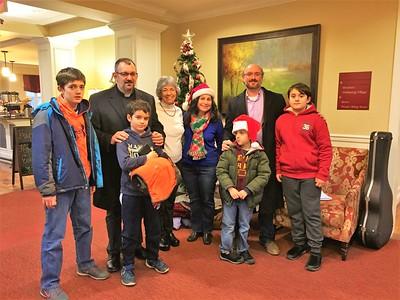 Christmas Caroling 2017