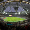 """The impressive London Olympic Stadium is home to the West Ham team that Martin and James's """"home team"""" Newcastle were matched against"""