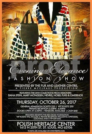 Chuck Pfoutz Presents: An Evening Of Elegance Fashion Show 2017 BW