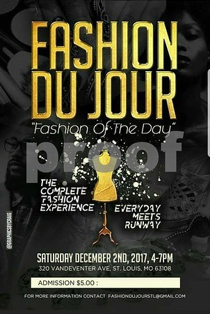 Chuck Pfoutz Presents: Fashion Du Jour - Fashion Of The Day 2017