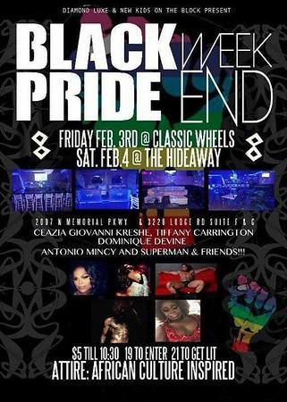 Chuck Pfoutz Presents: Huntzville Black Pride show 2017