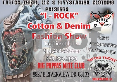 Chuck Pfoutz Presents: I - Rock Cotton and Denim Fashion Show 2017