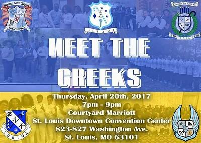 Chuck Pfoutz Presents: Meet The Greeks 2017