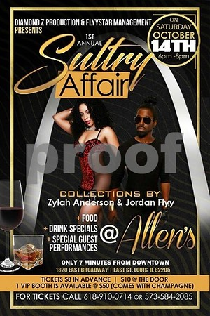 Chuck Pfoutz Presents: The 1st Annual Sultry Affair 2017