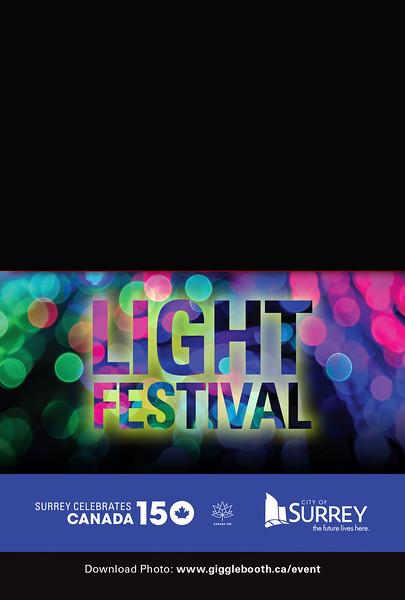 City Of Surrey Light Festival 2017