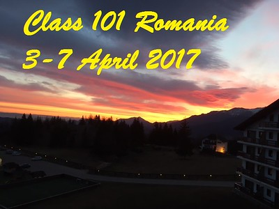 Class 101 Romania April 3-7, 2017