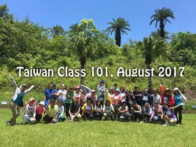 Class 101 Taiwan - August 2017