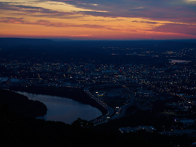 Dawn over Chattanooga