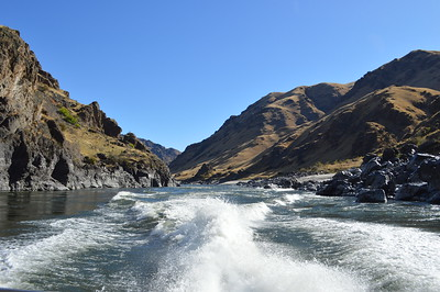 Riding through Hells Canyon - Cathy Phillips