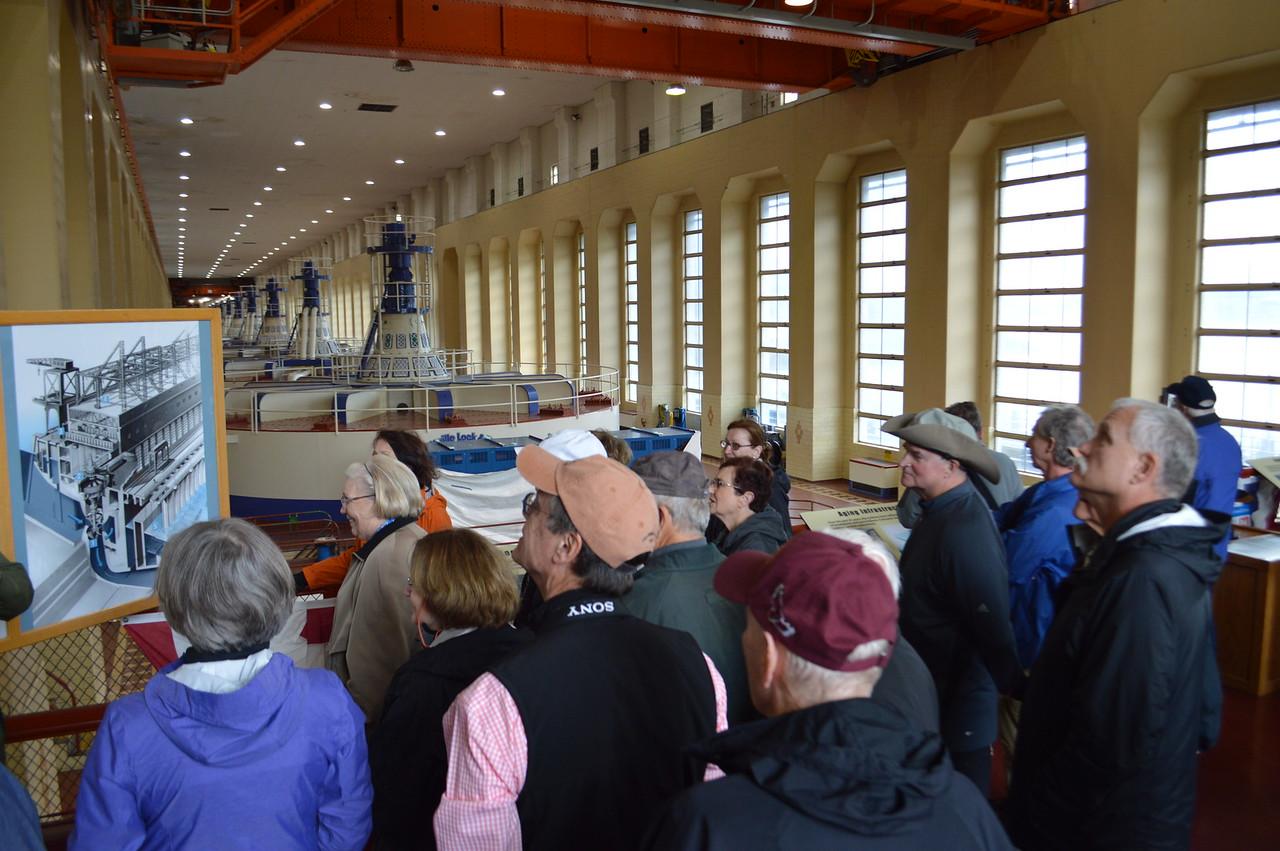 Bonneville Dam Powerhouse tour - Cathy Phillips