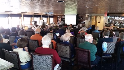 Dr. James McClure's lecture on board the S. S. Legacy - Cathy Phillips