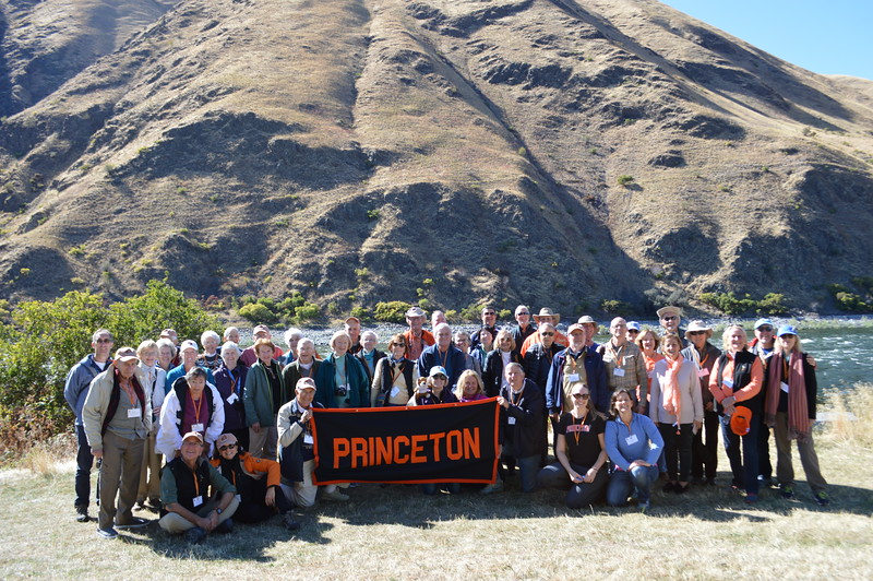 Princetonians in Hells Canyon - Cathy Phillips