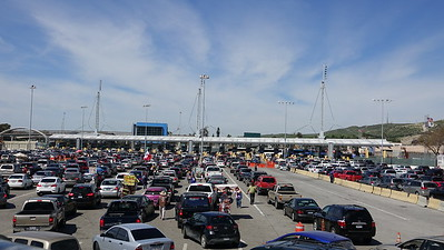 US-Mexico border - San Isidro point of entry - Tijuana, Mexico