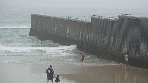 Distinct views of the U.S.-Mexico border - Playas de Tijuana