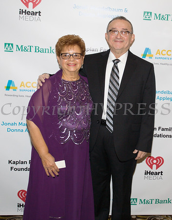 Daisy and Pablo Vale pose for a photo at Access: Supports For Living 2017 Gala on Saturday, November 18 at Anthony's Pier 9 in New Windsor, NY. Hudson Valley Press/CHUCK STEWART, JR.