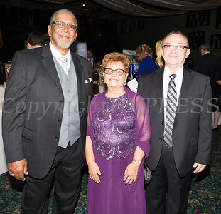 Rev. Nelson McAllister, Daisy and Pablo Vale enjoy Access: Supports For Living 2017 Gala on Saturday, November 18 at Anthony's Pier 9 in New Windsor, NY. Hudson Valley Press/CHUCK STEWART, JR.