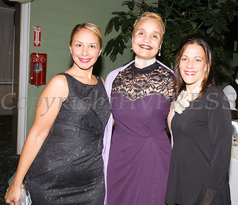 Marilyn Morales, Diahan Scott and April Gozza pose for a photo at Access: Supports For Living 2017 Gala on Saturday, November 18 at Anthony's Pier 9 in New Windsor, NY. Hudson Valley Press/CHUCK STEWART, JR.