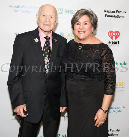 NYS Senator William Larkin (R, Cornwall-on-Hudson) and Access: Supports For Living honoree President and CEO Cornerstone Family Healthcare Linda Muller. Hudson Valley Press/CHUCK STEWART, JR.