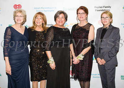 Access: Supports For Living President & CEO Amy Anderson-Winchell with honorees  Anne Nolon, Linda Muller, Joan Cusack-McGuirk and Honorary Chair NYS Assemblywoman Aileen Gunther. Hudson Valley Press/CHUCK STEWART, JR.