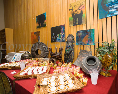 Black art was on display during the City of Newburgh Human Rights Commission sponsored Second Annual Black Pioneers of Newburgh at the Newburgh Free Library on Saturday, February 18, 2017. Hudson Valley Press/CHUCK STEWART, JR.