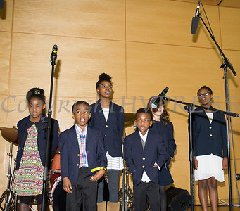 The Voices of Hope Children's Choir, performs at Choral Sunday, sponsored by SUNY Orange in Newburgh, NY on Sunday, May 7, 2017. Hudson Valley Press/CHUCK STEWART, JR.