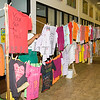 The Clothesline Project is a powerful visual display of T-shirts bearing the stories of victims and survivors of domestic violence. They were on display as Safe Homes of Orange County kicked off Domestic Violence Awareness Month in Newburgh, NY on Monday, October 2, 2017. Hudson Valley Press/CHUCK STEWART, JR.