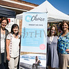 Jen, Julie, Kim and Leslie of MyChoice Pregnancy Care Center in New Windsor hand out information during the MVP Health Care sponsored community baby shower on Saturday, September 23 for expectant mothers and parents of babies. Hudson Valley Press/CHUCK STEWART, JR.
