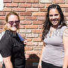 Juana Leandry-Torres and Jacqueline Hernandez of The Ark of Learning were present for the MVP Health Care sponsored community baby shower on Saturday, September 23 for expectant mothers and parents of babies. Hudson Valley Press/CHUCK STEWART, JR.