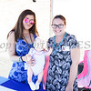 Natasha Carmona and and Kathleen Oiley of Access: Supports for Living hand out information during the MVP Health Care sponsored community baby shower on Saturday, September 23 for expectant mothers and parents of babies. Hudson Valley Press/CHUCK STEWART, JR.