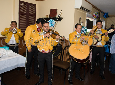 Mariachi Viva Mexico performed as part of the grand opening celebration of Francesca's Pizzeria & Restaurant in Montgomery on October 16, 2017. Hudson Valley Press/CHUCK STEWART, JR.