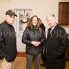 Orange County Sheriff Carl Dubois, Martine Najork and Harold Porr take a tour of Habitat for Humanity of Greater Newburgh's 90th home on Friday, December 1, 2017. Hudson Valley Press/CHUCK STEWART, JR.